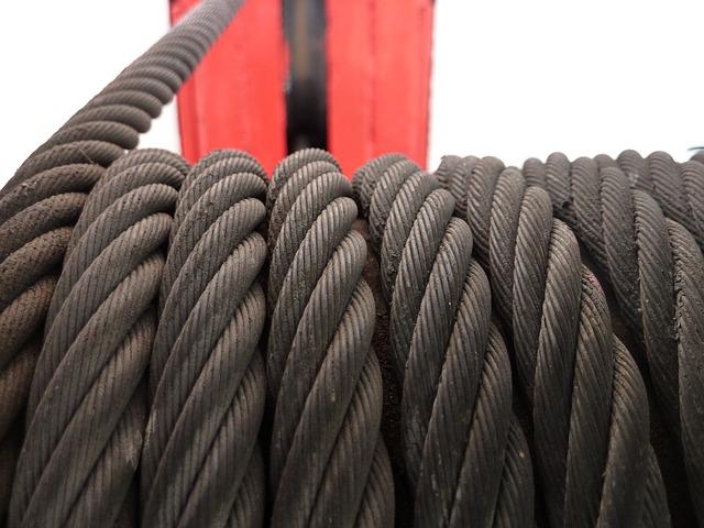 cabestrante de cable pasante